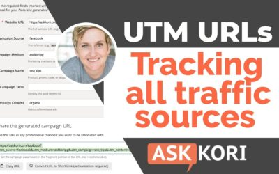 Tracking Website Traffic with Free UTM Codes